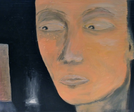 WAITING FOR, acrylic, 2014 (50x60cm) SOLD