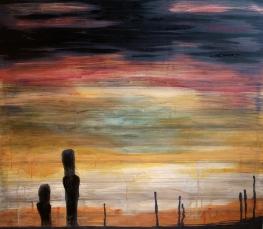 SURVIVORS, acrylic, 2013 (114x100cm)