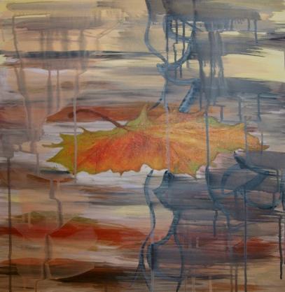 ALONE,acrylic, 2013 (60,5x60,5cm) SOLD