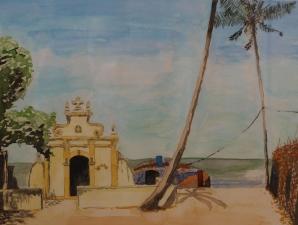 GOA, watercolor, 2014 (23x30,5cm)