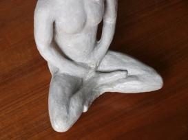 YOGA MAN, concrete, 28cm, 2014
