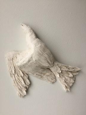 BIRD, clay, 30cm, 2015