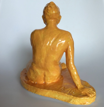 GUL, glazed clay, 18cm, 2016/18