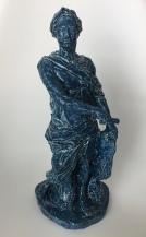 CAESAR, glazed clay, 32cm, 2020